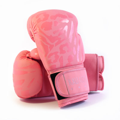 Animal Blush Pink Boxing Gloves