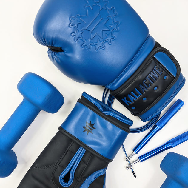 Royal Blue Boxing Gloves