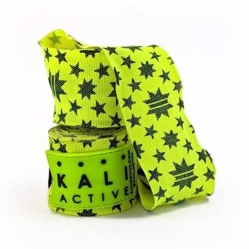 Neon Star Power Boxing Handwraps