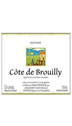 2017 Domaine Gilbert Chetaille Cote de Brouilly