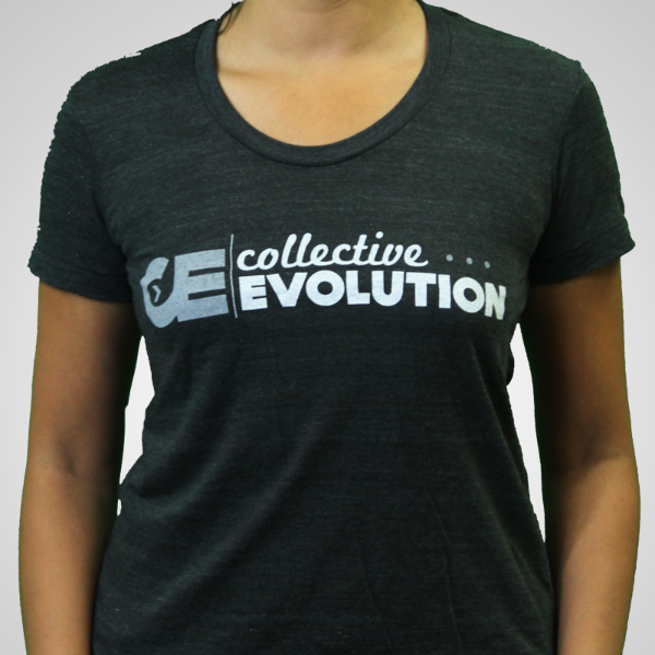 Women's Tri-Blend T Shirt With Distressed Greyscale CE logo