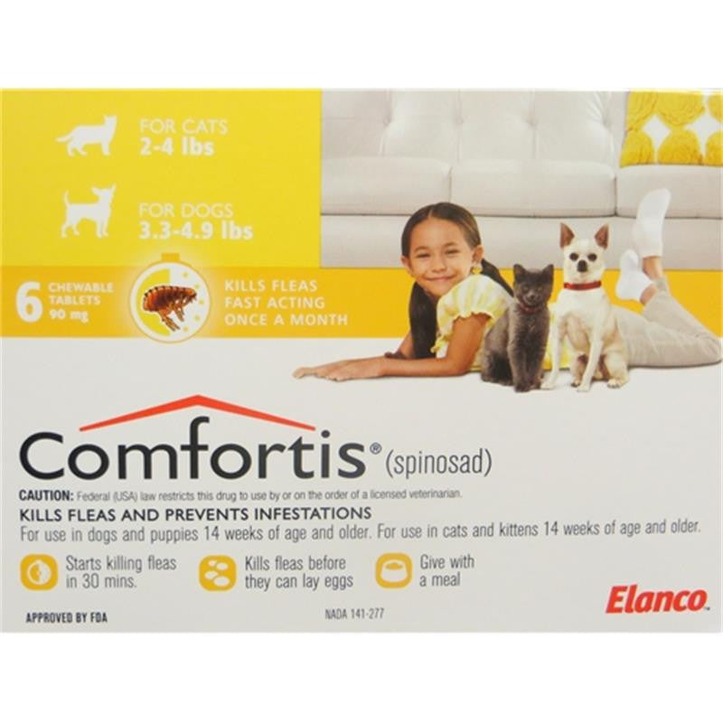 Comfortis™ **RX (Spinosad) 6 Doses