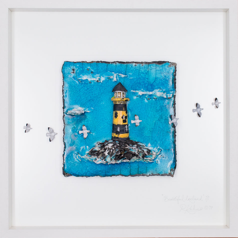 Beautiful Ireland ~ The Heritage Collection ~ Lighthouse (jf24) Lrg