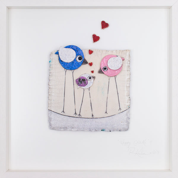 'Love Birds' ~ Family (z9) Lrg STUDIO CLEARANCE SPECIAL!