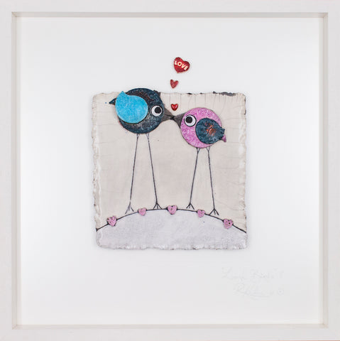 Love Birds (jf14) STUDIO CLEARANCE SPECIAL!! Lrg