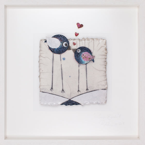 Love Birds (js11) STUDIO CLEARANCE SPECIAL!! Lrg