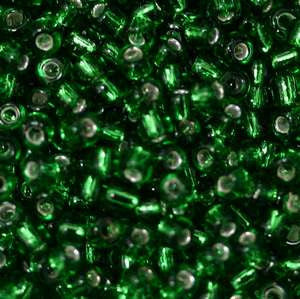 11/o Japanese Seed Bead 0016 Silverlined - Beads Gone Wild