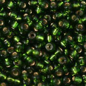 11/o Japanese Seed Bead 0037 npf Silverlined - Beads Gone Wild