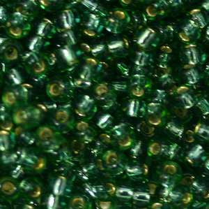 11/o Japanese Seed Bead 0038 npf Silverlined - Beads Gone Wild