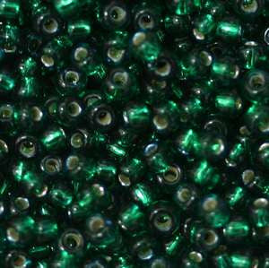 11/o Japanese Seed Bead 0050 npf Silverlined - Beads Gone Wild