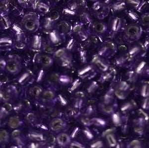 11/o Japanese Seed Bead 0058 npf Silverlined - Beads Gone Wild