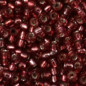 11/o Japanese Seed Bead 0060 npf Silverlined - Beads Gone Wild