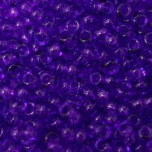 11/o Japanese Seed Bead 0153E npf Transparent - Beads Gone Wild