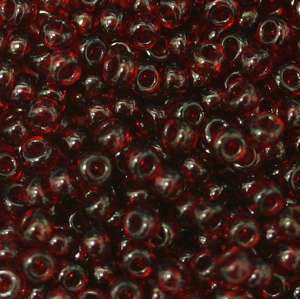 11/o Japanese Seed Bead 0153L npf Transparent - Beads Gone Wild