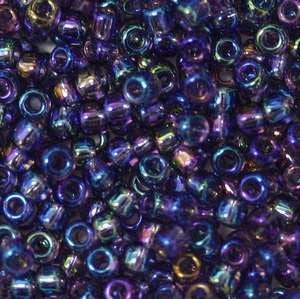 11/o Japanese Seed Bead 0255 Rainbow - Beads Gone Wild