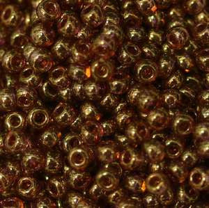 11/o Japanese Seed Bead 0318D Gold Luster - Beads Gone Wild