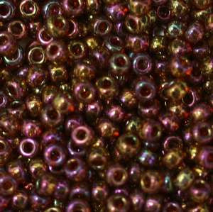 11/o Japanese Seed Bead 0318L Gold Luster - Beads Gone Wild