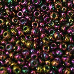 11/o Japanese Seed Bead 0318M Gold Luster - Beads Gone Wild
