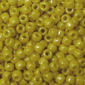 11/o Japanese Seed Bead 0422A Opaque Luster - Beads Gone Wild