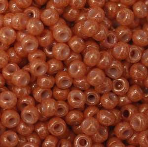 11/o Japanese Seed Bead 0445 npf Opaque Luster - Beads Gone Wild