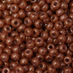11/o Japanese Seed Bead 0446 npf Opaque Luster - Beads Gone Wild