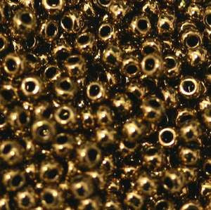 11/o Japanese Seed Bead 0457G Metallic - Beads Gone Wild