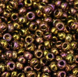 11/o Japanese Seed Bead 0460H npf Metallic - Beads Gone Wild