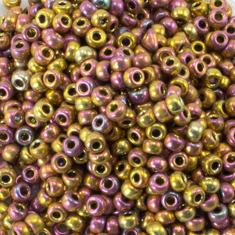 "11/o Japanese Seed Bead 0462U Metallic 3"" tube - Beads Gone Wild"