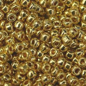 "11/o Japanese Seed Bead 0465 Metallic 3"" tube - Beads Gone Wild"