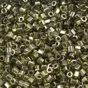 11/o Hex Seed Bead Matte-Color Opaque Gray - Beads Gone Wild