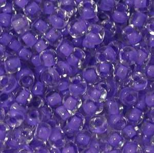 15/O Japanese Seed Beads Crystal 222A - Beads Gone Wild