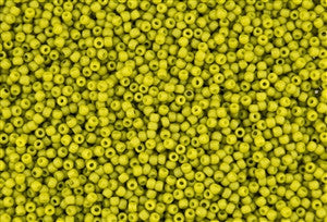 11/o Japanese Seed Bead 2600F Semi-Glazed - Beads Gone Wild