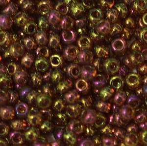 15/O Japanese Seed Beads Gold Luster 301 - Beads Gone Wild
