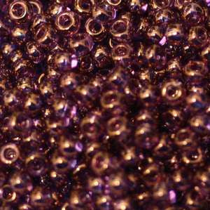 6/O Japanese Seed Beads Gold Luster 319I - Beads Gone Wild