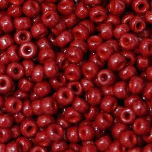 15/O Japanese Seed Beads Opaque 407A npf - Beads Gone Wild