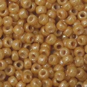 15/O Japanese Seed Beads Opaque Luster 421E - Beads Gone Wild