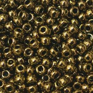 6/O Japanese Seed Beads Metallic 457 - Beads Gone Wild