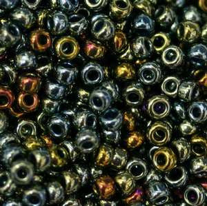 6/O Japanese Seed Beads Metallic 462 - Beads Gone Wild
