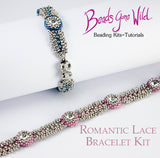Romantic Lace Bracelet Bead Weaving Kit