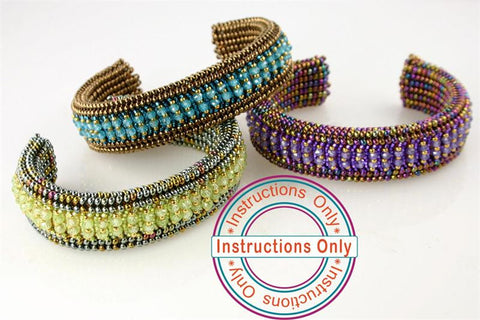 CZ Buckle & Cuff Instructions - Beads Gone Wild