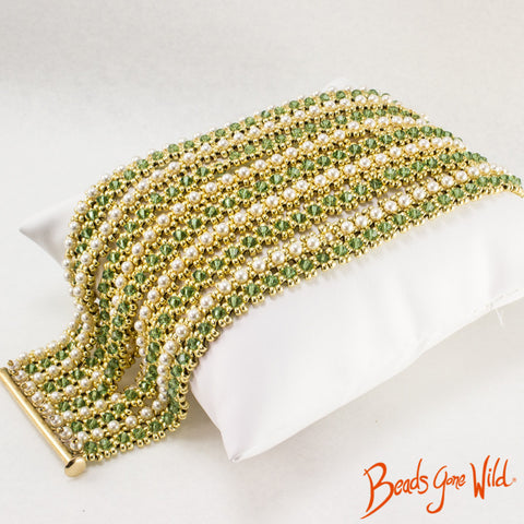 Choora Bracelet bead weaving Instructions Pattern