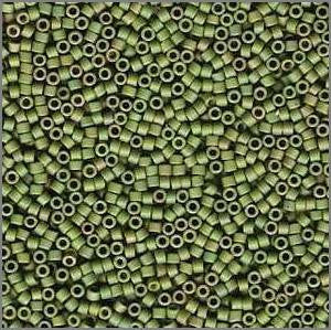 11/o Delica DB 0372 Light Yellow - Green M MA - Beads Gone Wild