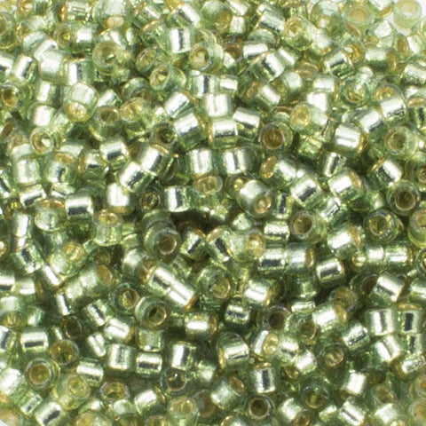 11/o Delica DB 2163 Willow Silver Lined - Beads Gone Wild