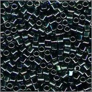 8/o Delica DBL 0005 Blue / Green MR - Beads Gone Wild