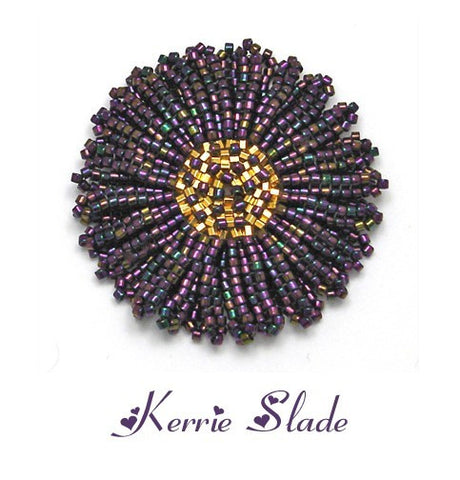 Double Daisy Instructions  by Kerrie Slade - Beads Gone Wild