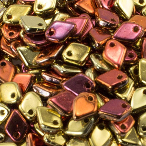 Dragon Scale California Gold Rush 1.5 x 5mm 8 grams - Beads Gone Wild