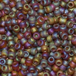 6/O Japanese Seed Beads Frosted F257 - Beads Gone Wild