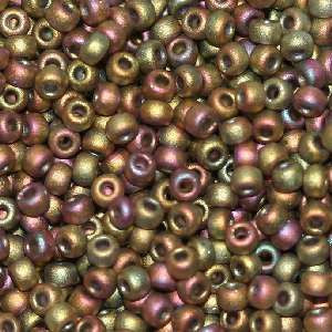 6/O Japanese Seed Beads Frosted F463K - Beads Gone Wild
