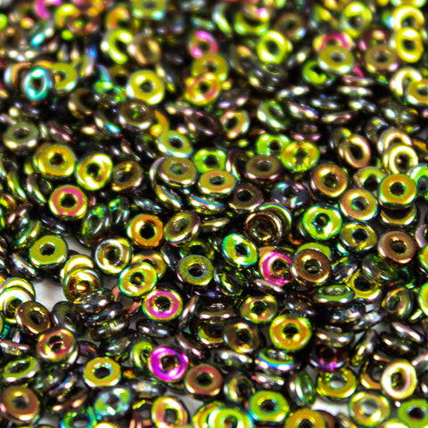 Magic Green 2x4mm - Beads Gone Wild