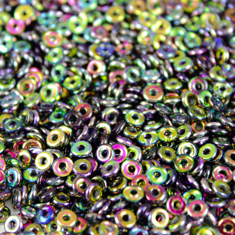 Magic Purple 2x4mm - Beads Gone Wild